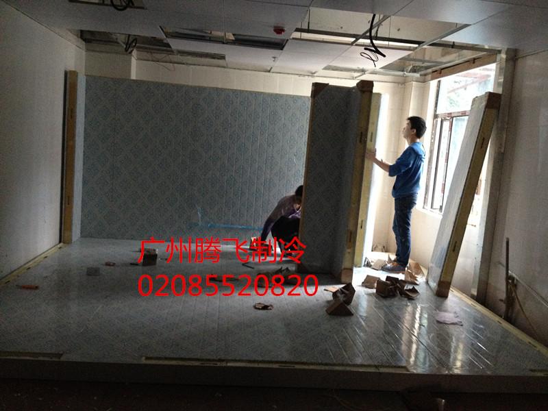 广州玄门餐饮有限责任公司冷冻库安装